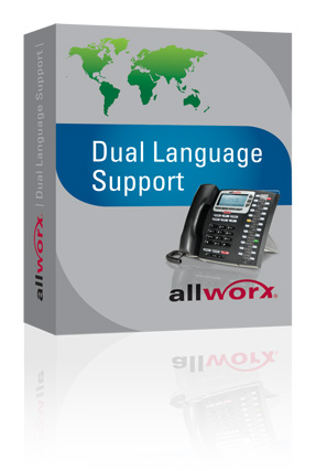 Allworx Dual Language Support Software