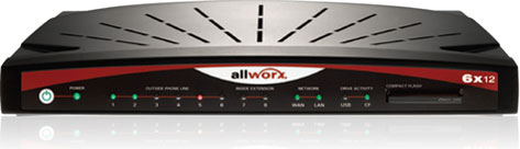 Allworx Business Phone System 6x12