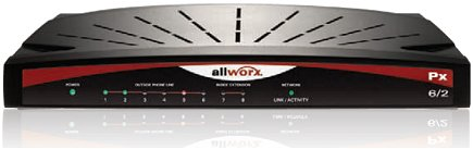 Allworx Business Phone System Px 6/2